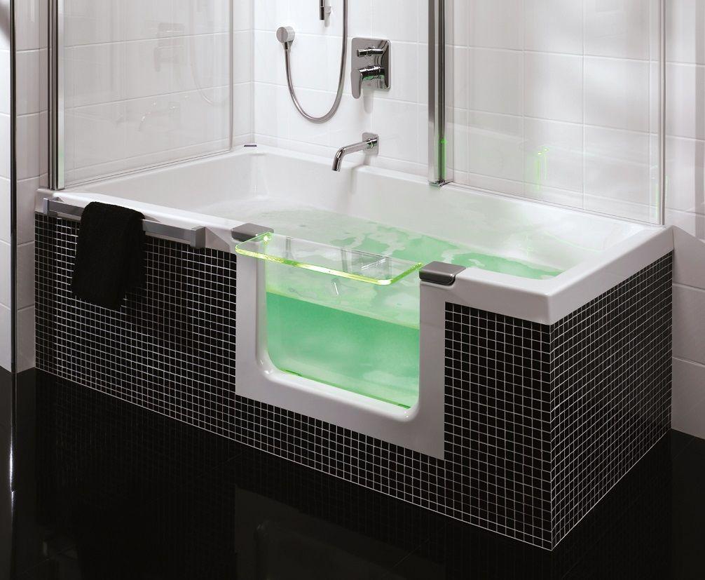 Inloopdouche Met Douchecabine : 5 voordelen van een bad douche combinatie azra pinterest tub