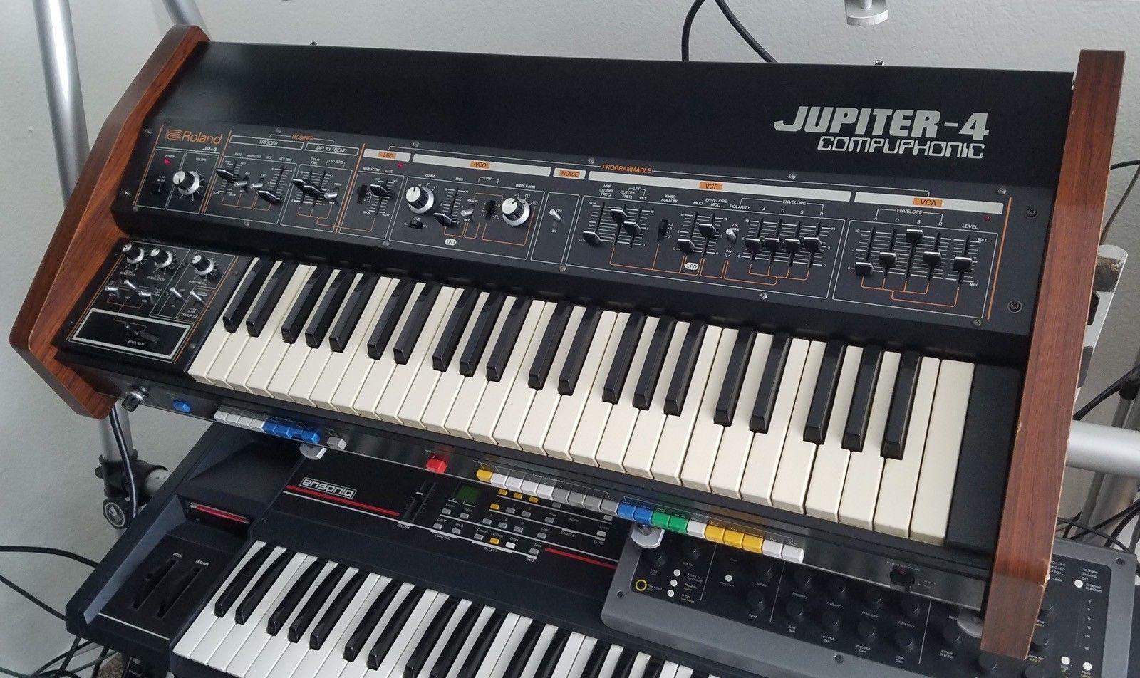 Roland Jupiter-4, Classic Analog Synthesizer with MIDI