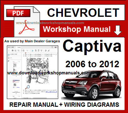 Cherolet Captiva Workshop repair and service manual ...