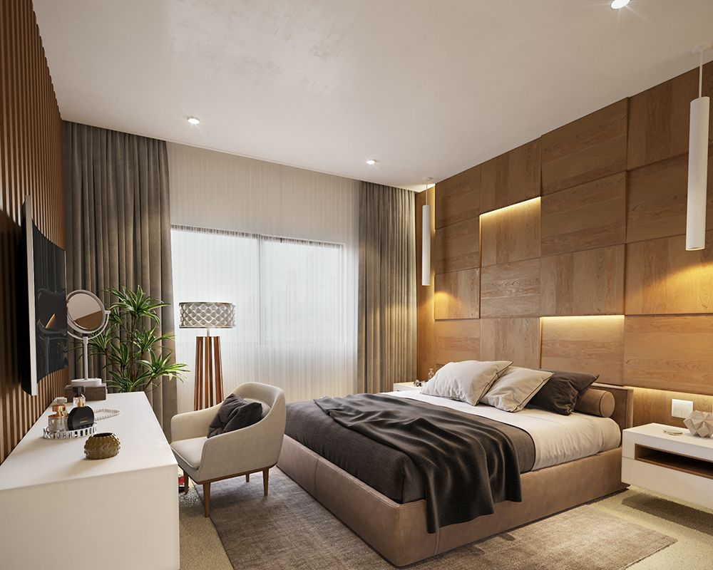 Master Bedroom Katameya Heights Egypt Mondean - Egyptian bedroom design