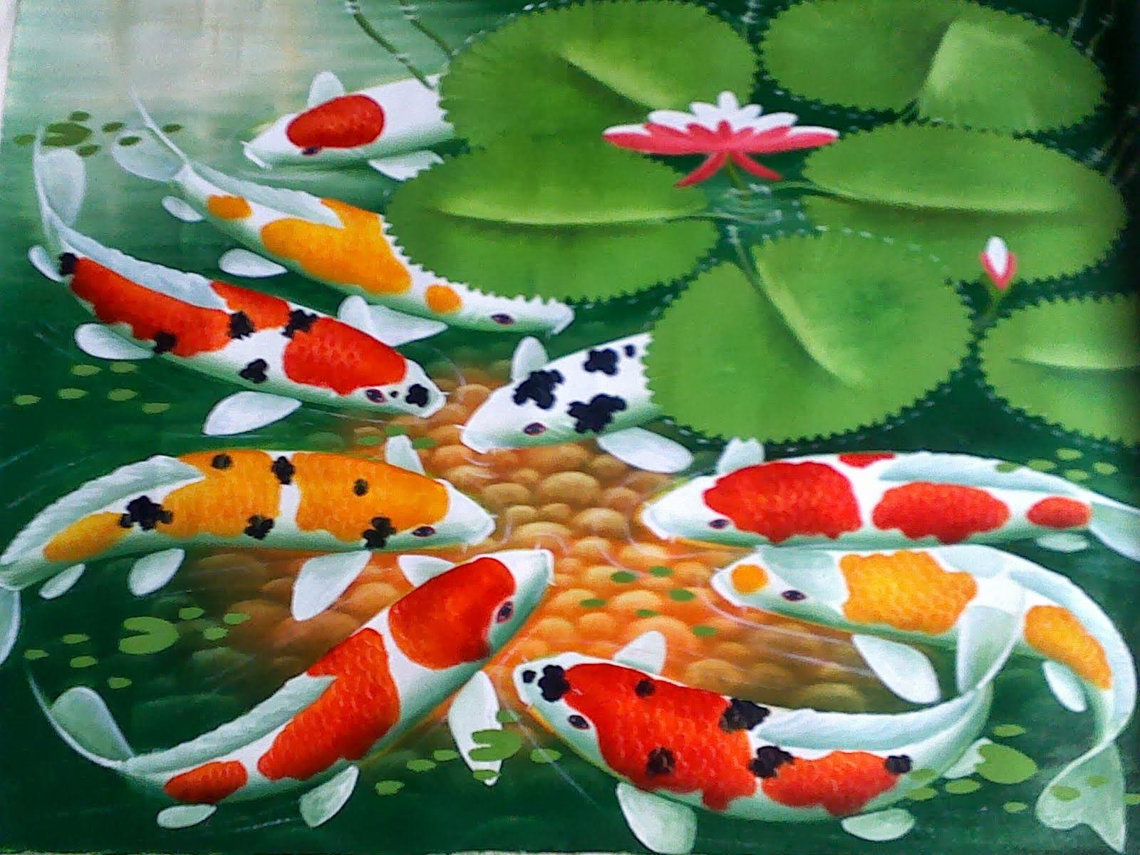 Wallpaper Ikan Bergerak Dalam Aquarium