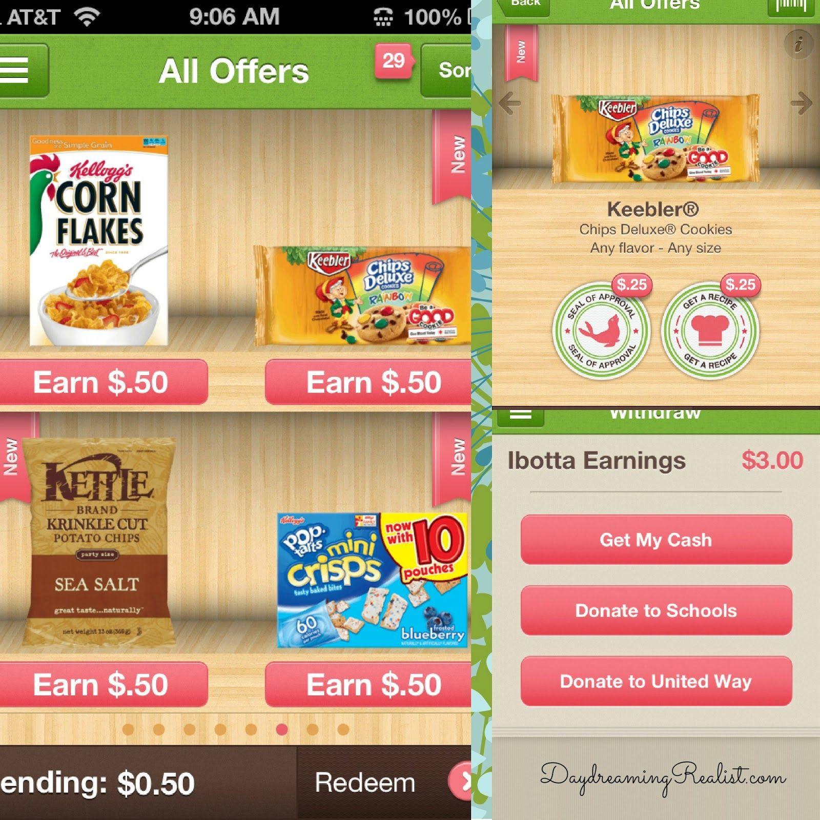 Earn Money With This Free App Ibotta! Ibotta app