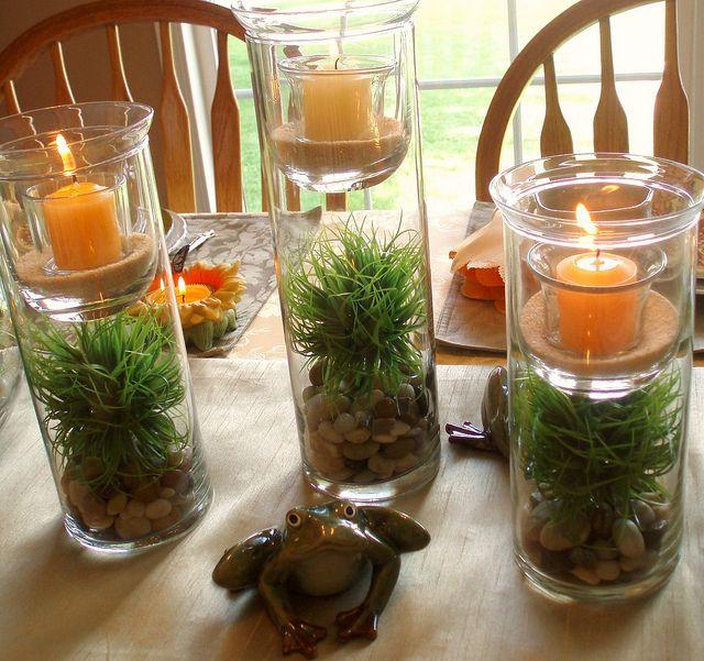 Summer Centerpiece | Summer centerpieces, Coffee table ...
