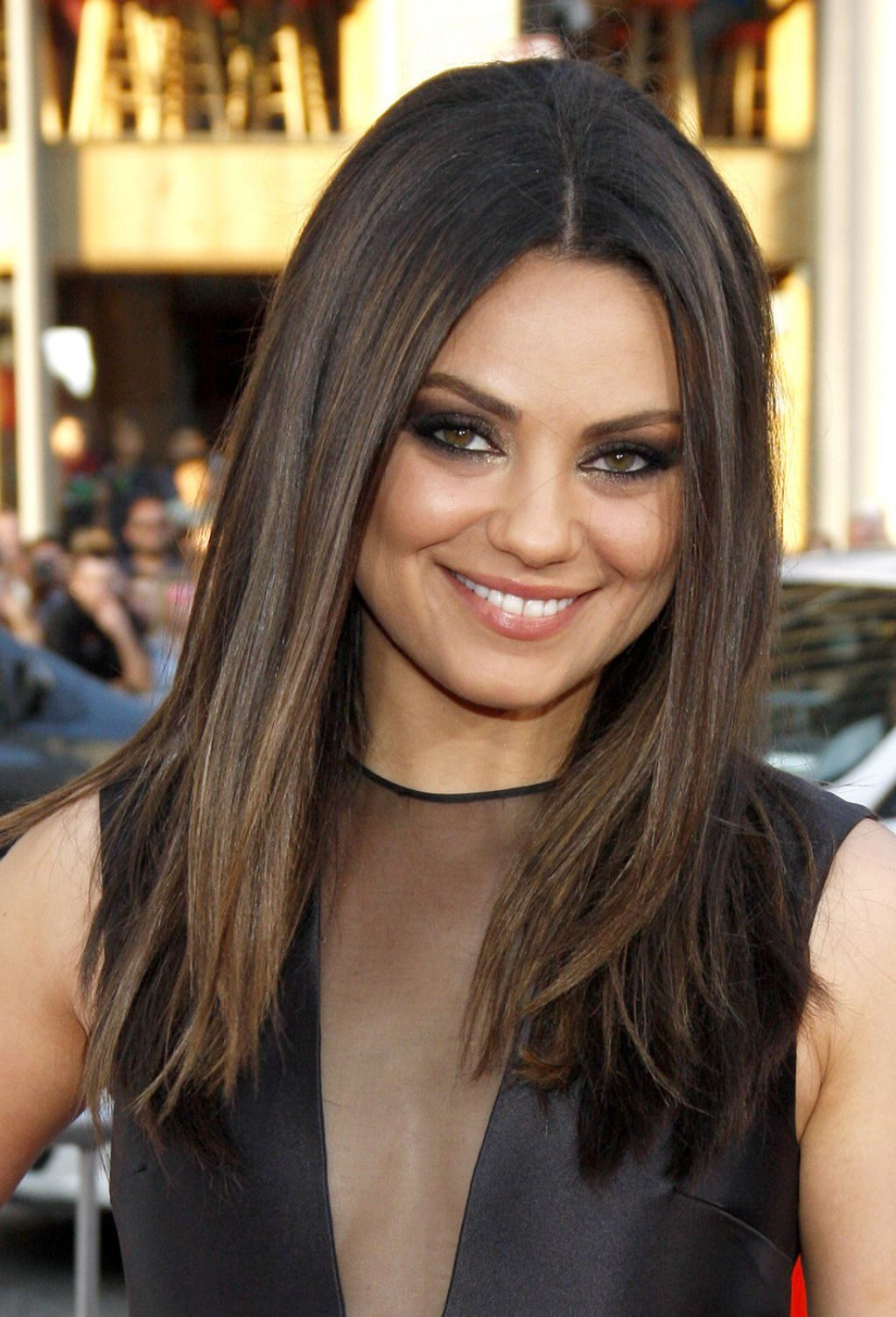 Mila Kunis Brown Hair Color