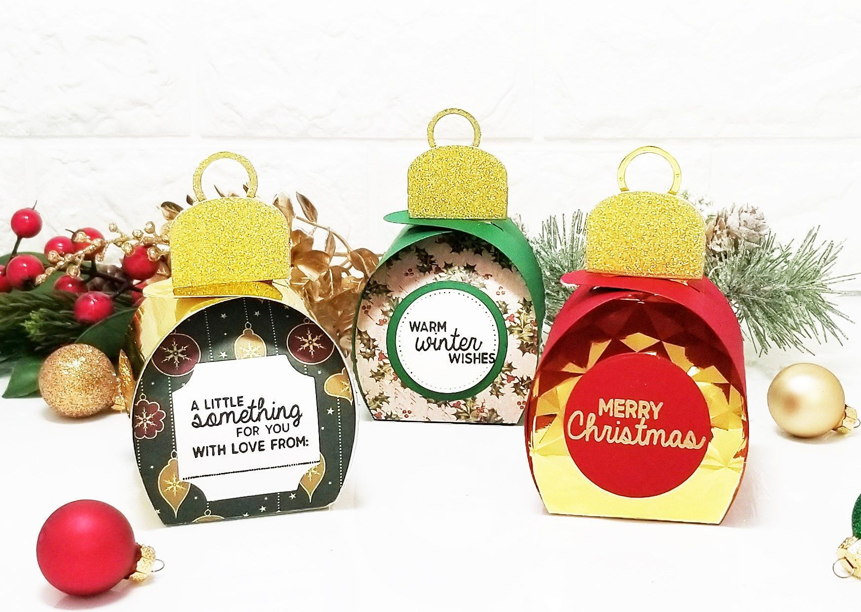 Festive Giftables Die Sets by Crafter's Companion in 2020 | Christmas  treats holders, Crafters companion, Christmas cards