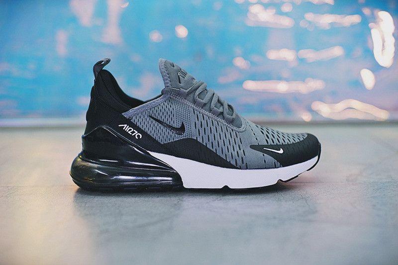 ac717cd7691 2018 Popular sneakers Nike Air Max Light Grey Black Whiite AH8050 ...