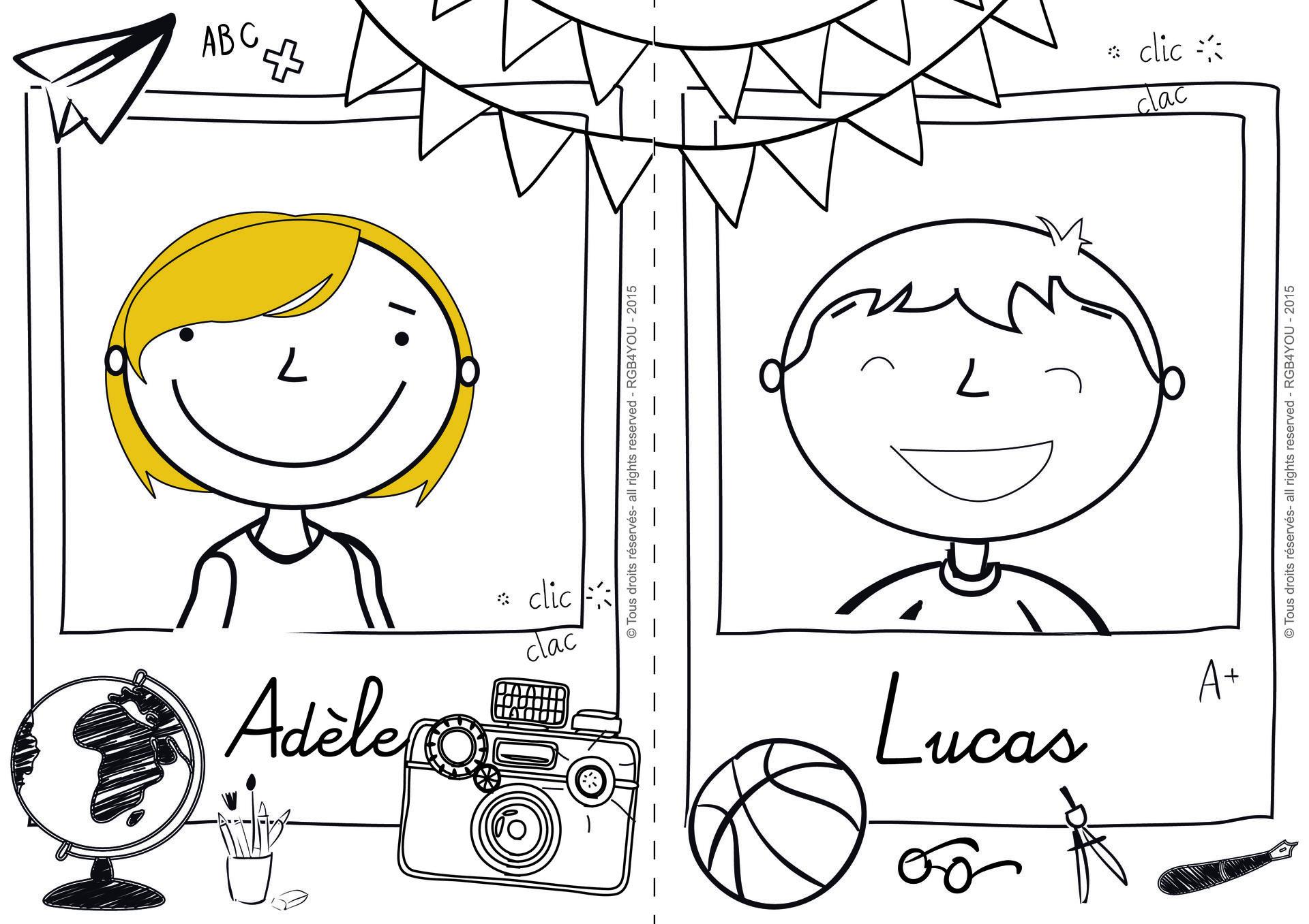Affiche Ecole Portrait Photo A Telecharger A Imprimer Et A
