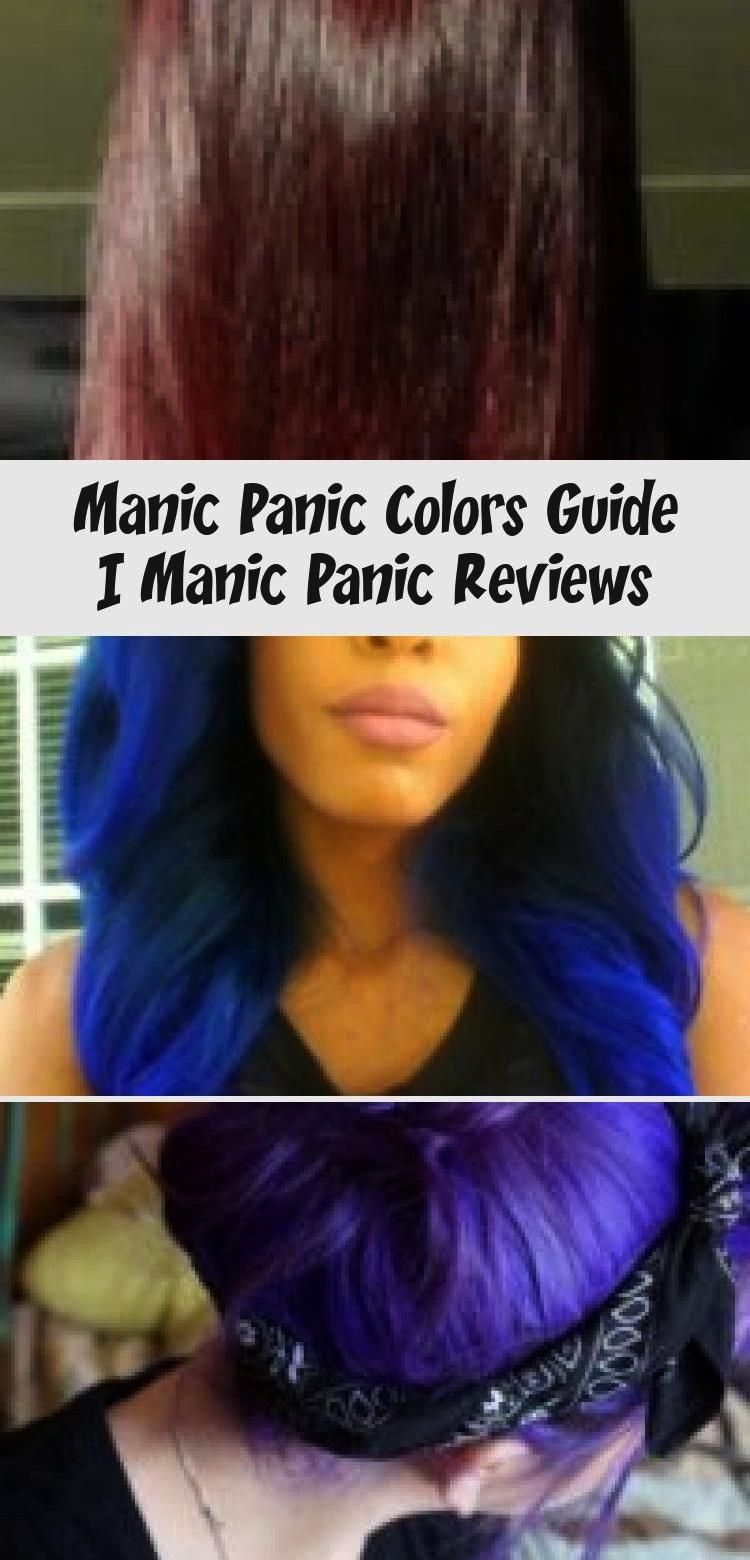 Manic Panic Shocking Blue And Blue Steel Mixed Instagram Bloodali Manic Panic Shocking Blue Shocking Blue Hair Color Dark Blue