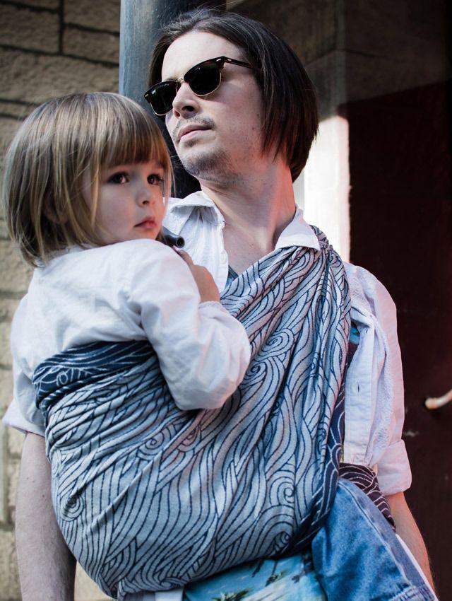 Rei Romeo Baby Wrap by Oscha Slings