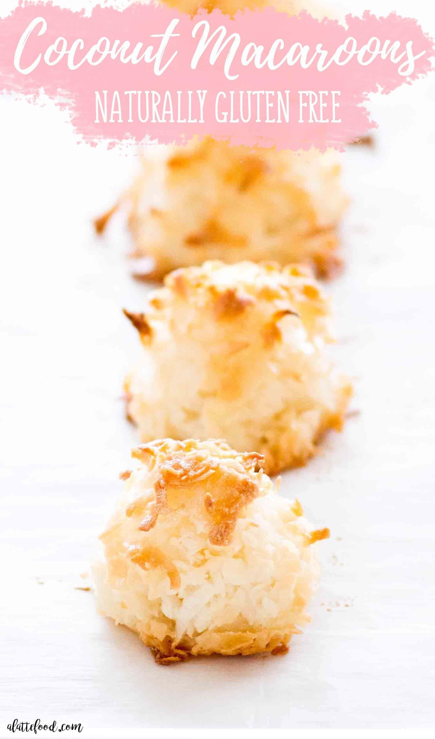 Easy Coconut Macaroons In 2020 Coconut Macaroons Easy Coconut Macaroons Easy Baking Recipes