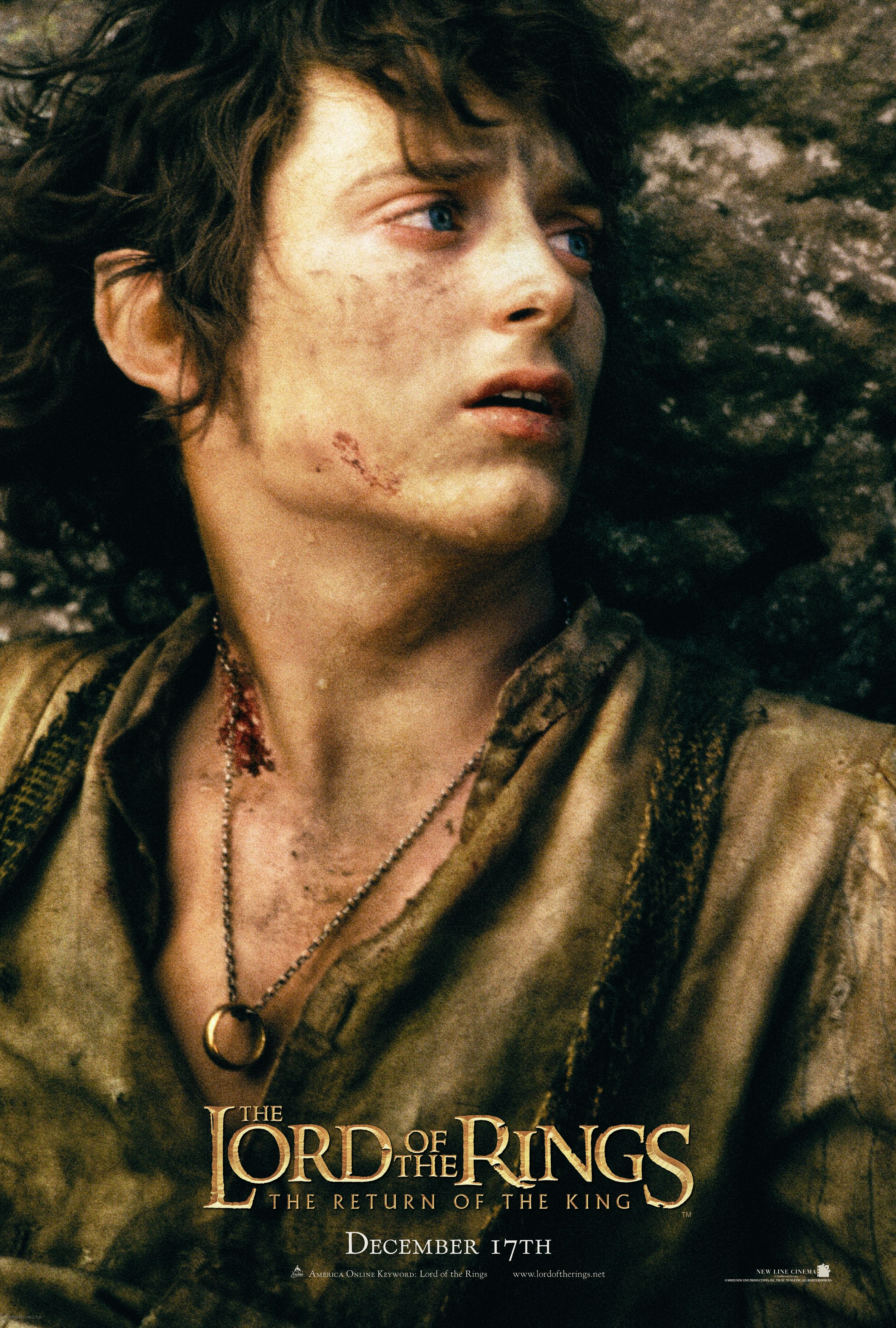 """Lord of the Rings   Enneagram... Exploring Your True Self   Elijah Wood Frodo Poster"