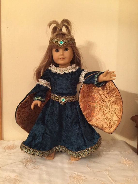 American Girl Medievel Celtic Princess by Fairytaleblessings