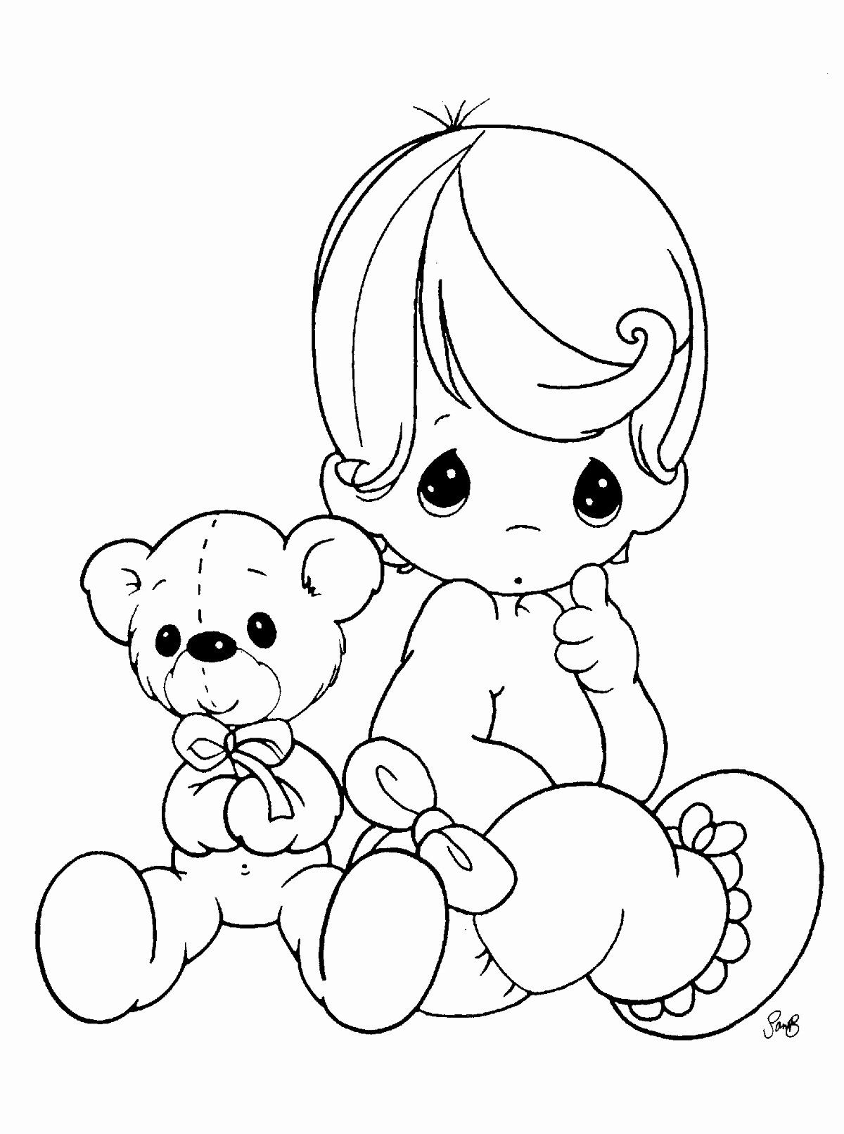 Cute Coloring Books Fresh Free Printable Baby Coloring Pages For Kids