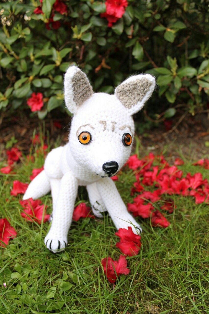WOLF free pattern for celebrating more than 360 followers :-) Thank ...