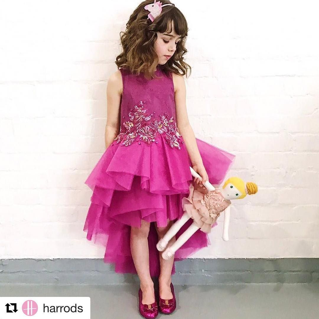 MISCHKA AOKI SS 2017   niña   Pinterest   Vestidos de niñas, Nena y ...