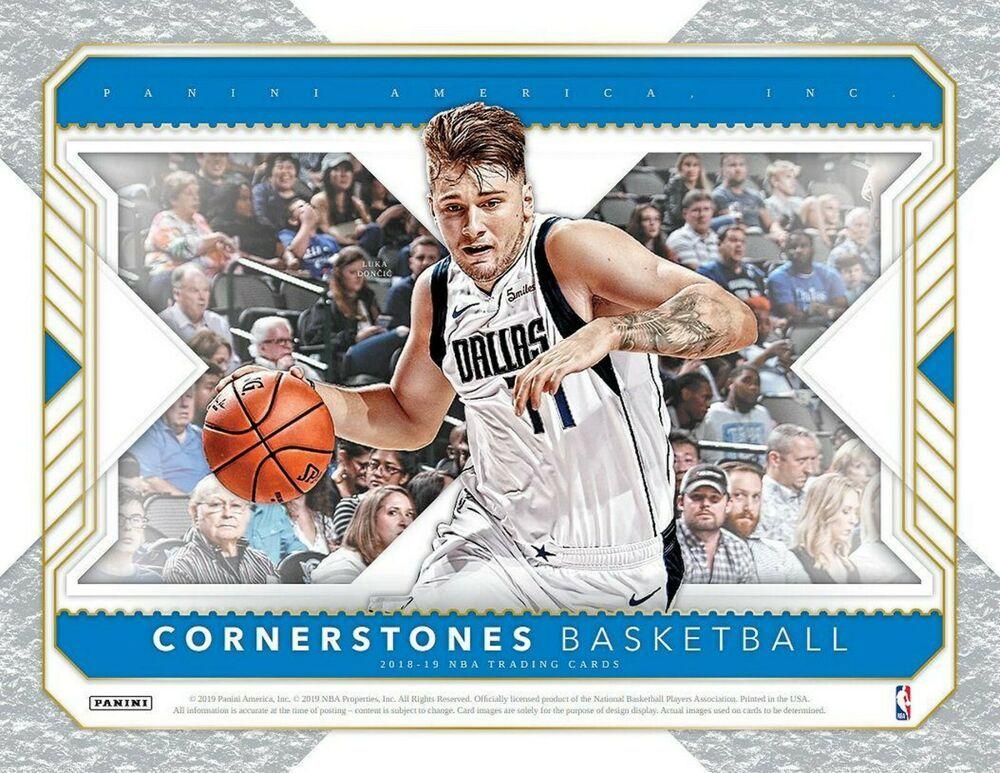 201819 panini cornerstones basketball hobby box pre order