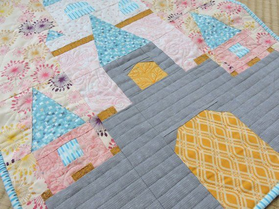 Fairy Tale Castle Quilt Pattern Quilts Fairytale Castle