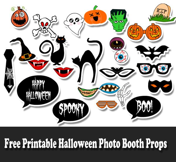photograph regarding Free Printable Halloween identify Cost-free Printable Halloween Photograph Booth Props addobbi festa