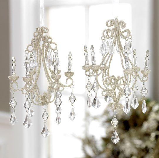 Image Detail For Victorian Chandelier Elegant Christmas Ornament
