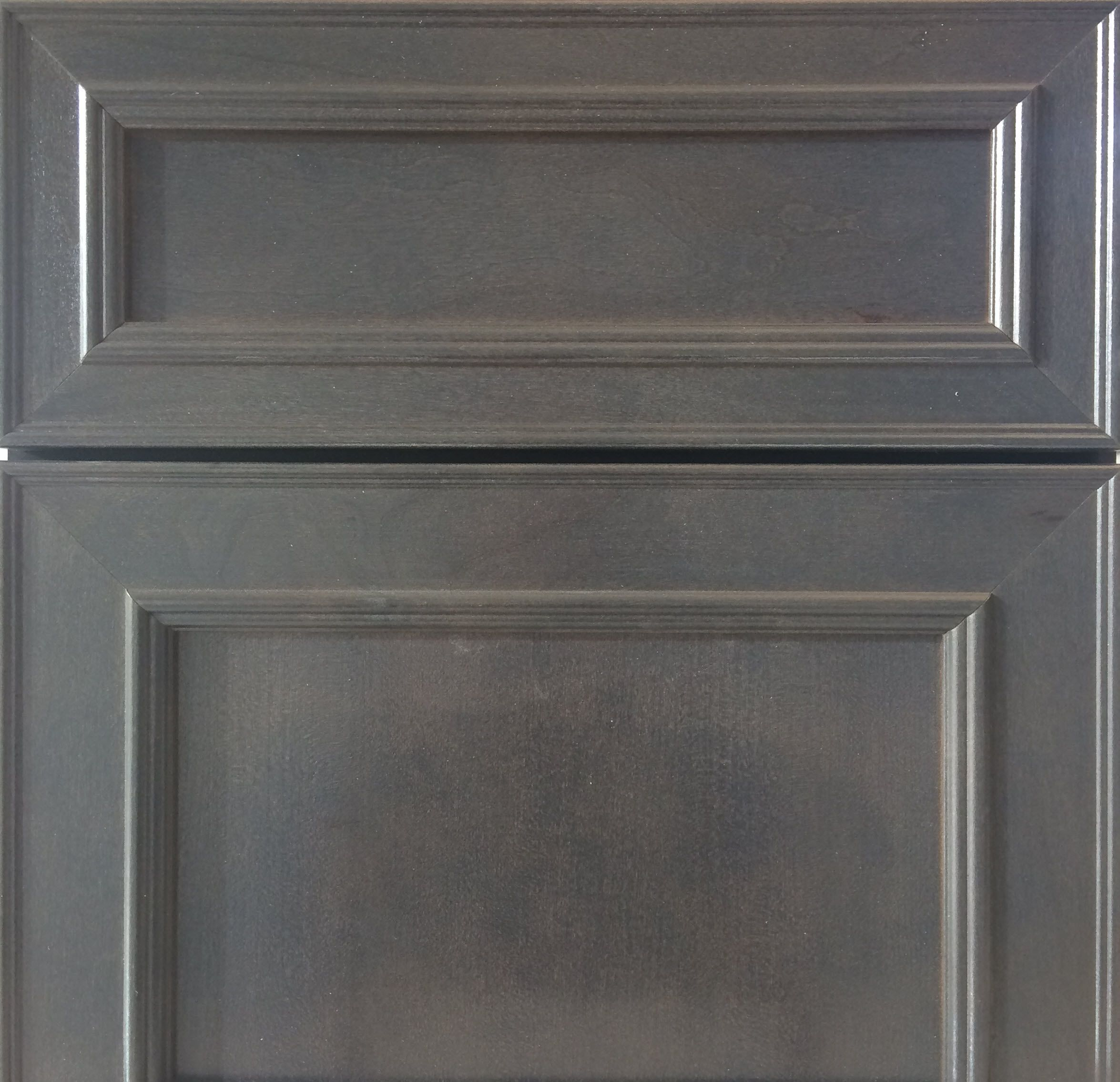 Upgraded Level 5 Kinsdale Cherry Cabinet In Slate With