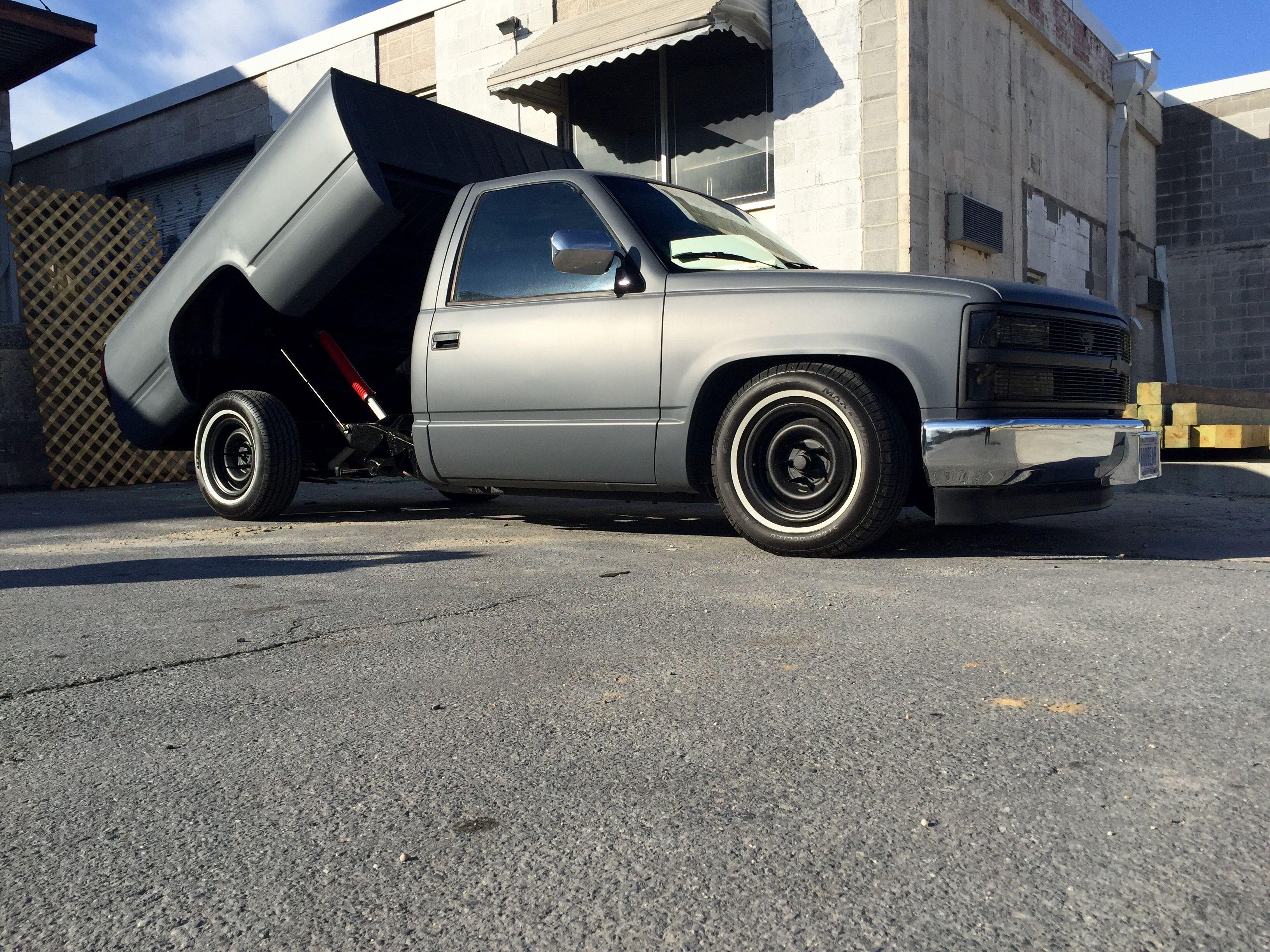 Full Body Plasti Dip Gunmetal Grey 1992 C1500 1992 Chevy C1500