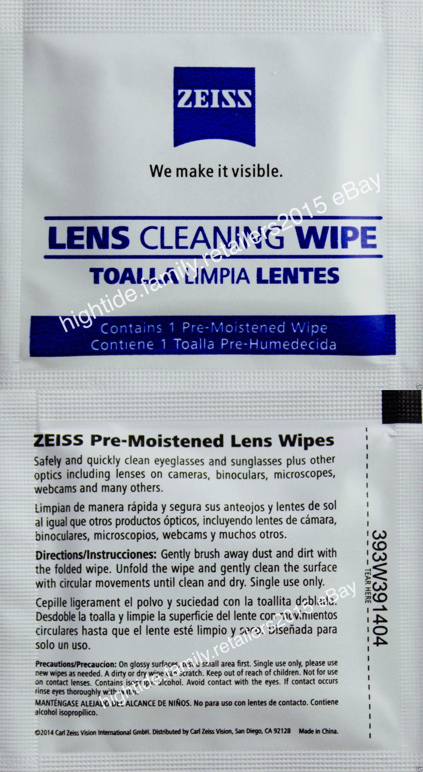 Cleaning Equipment and Kits 175678: Zeiss Lens Cleaning