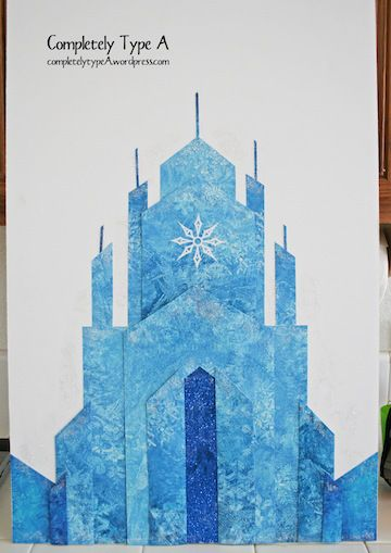 How to Make Elsa's Ice Castle from DISNEY'S FROZEN ...