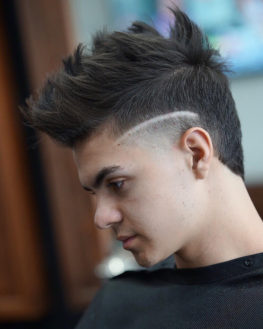 V style haircut men  simple regular clean cut haircuts for men  hair and beauty