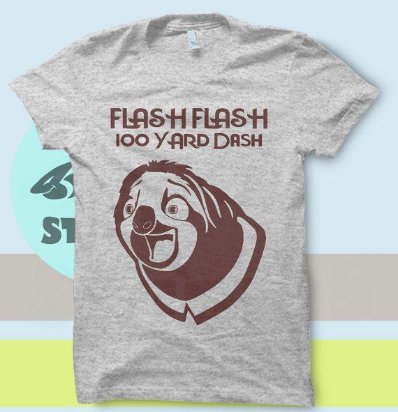 a2ecffe85 Zootopia Flash Flash 100 yard Dash Sloth T by SnarkySharkStudios ...