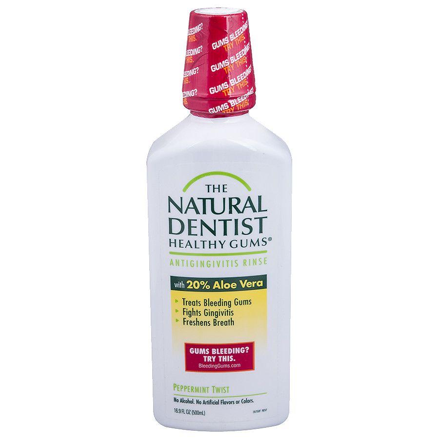 The natural dentist healthy gums antigingivitis rinse