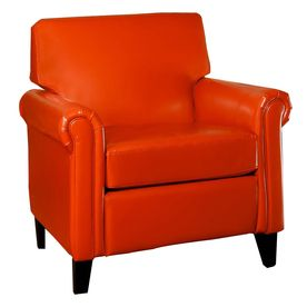 Best Selling Home Decor Lennox Burnt Orange Bonded Leather 400 x 300