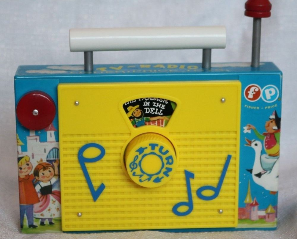 Details about Fisher Price 2009 TV Radio Farmer in the Dell