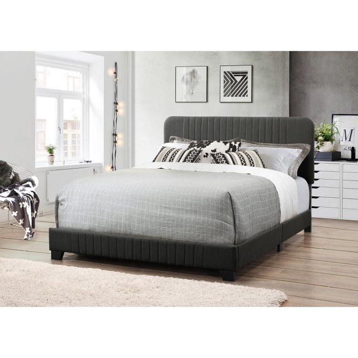 Right2Home MidCentury AllinOne Platform Bed with