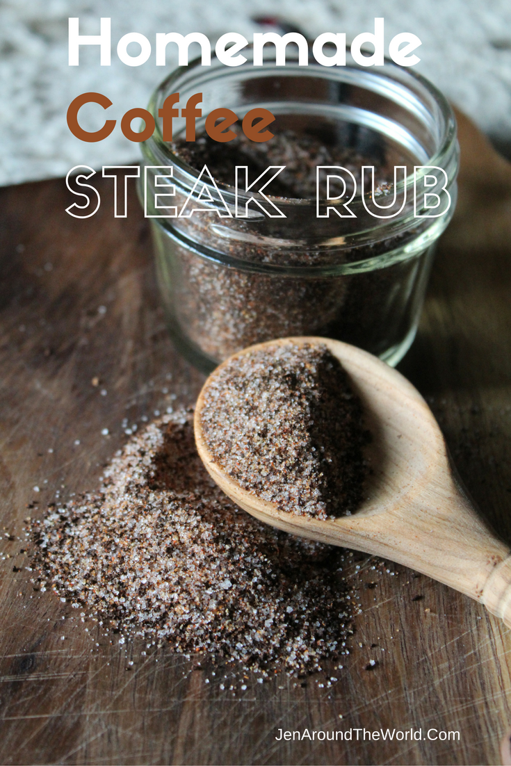 Homemade Coffee Steak Rub plus a Hefty Giveaway for you!