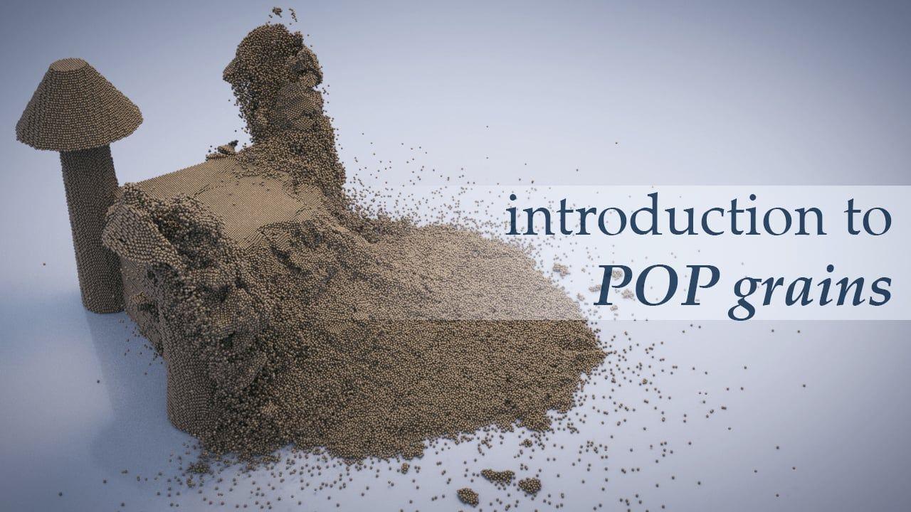Introduction to POP grains #Houdini #animation #vfx #sidefx #tutorial