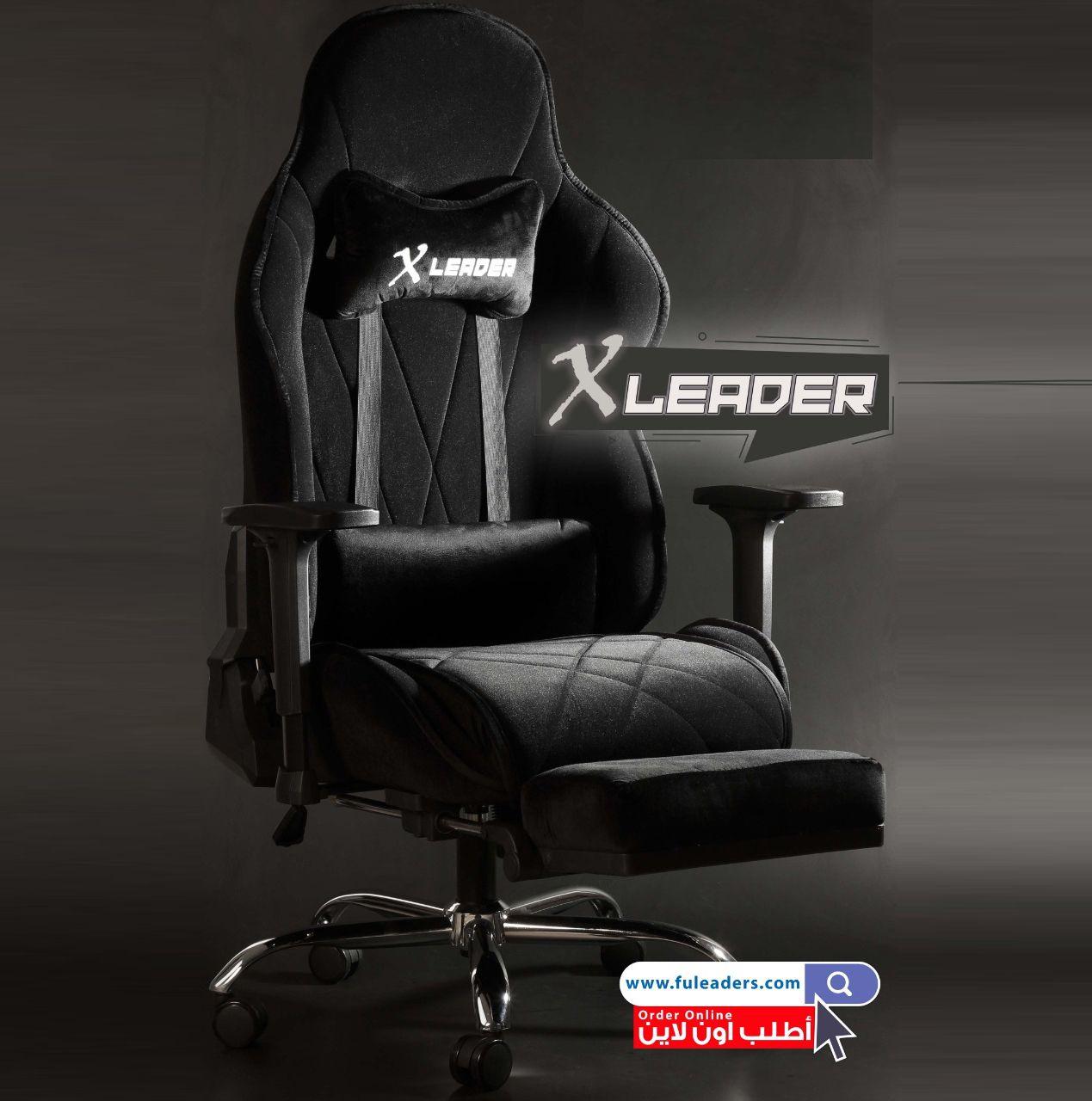 كرسي قيمنق مكتبي مخمل فاخر من كراسي ليدرز Chair Gaming Chair Office Games
