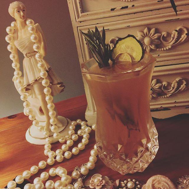 Foragers Foray @bringandmix #cocktail #cocktails #southampton #bedfordplace #gin #basil #rosemary #cucumber #apple #grenadine #saturday #saturyay