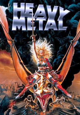 Heavy Metal Movie Poster Image Heavy Metal Art Heavy Metal Comic Heavy Metal Movie
