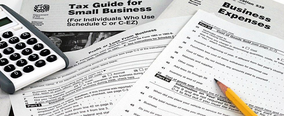 Irs Business Tax Forms Business Expense Form And Instructions With