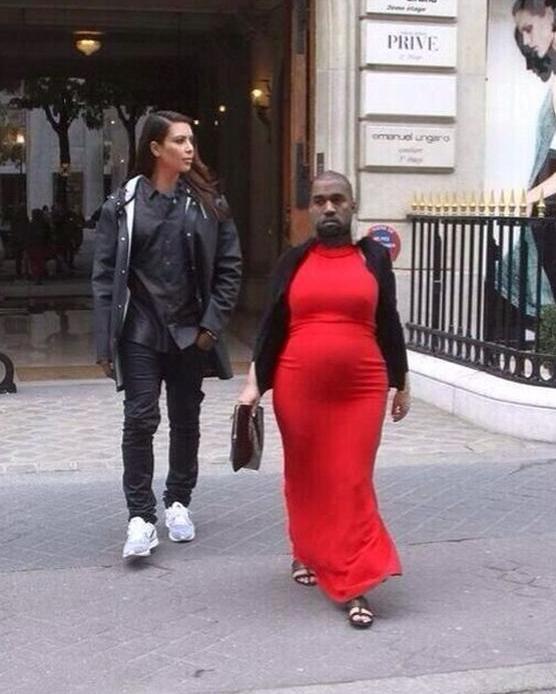 Kim Kardashian And Kanye West Photoshop Funny Face Swap Face Swaps Kanye West And Kim