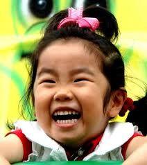 Sweet smiling baby girl!