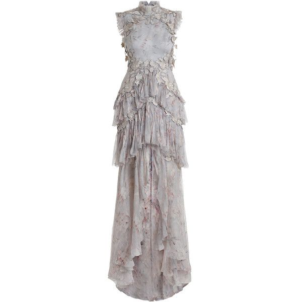 caa73347c25d ZIMMERMANN Stranded Tier Dress ($3,200) ❤ liked on Polyvore featuring  dresses, floral ruffle dress, floral dresses, zimmermann dresses,  embroidered dress ...
