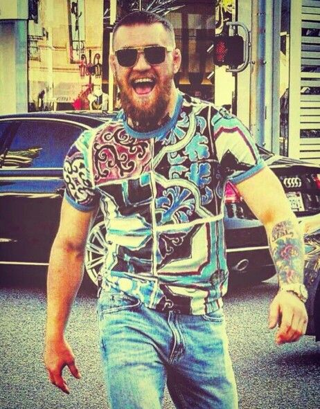 The Notorious Conor McGregor (one of my favorite pics of The King)