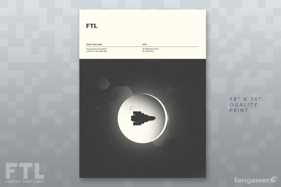 FTL: Faster Than Light - Eclipse Poster