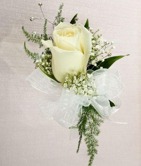 Sposo Boutonniere Prom Bride Polso Corsage Wedding Flower Party Decorazione Fiore Polso Corsage