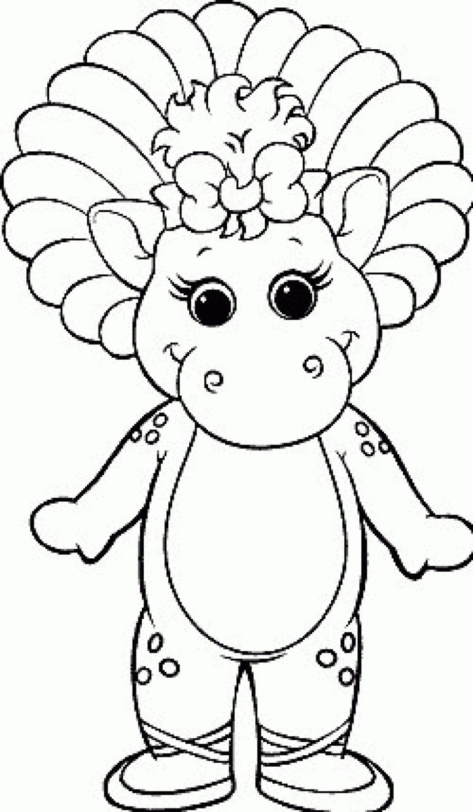 Barney Coloring Pages Coloring Pages Coloring Pages Barney