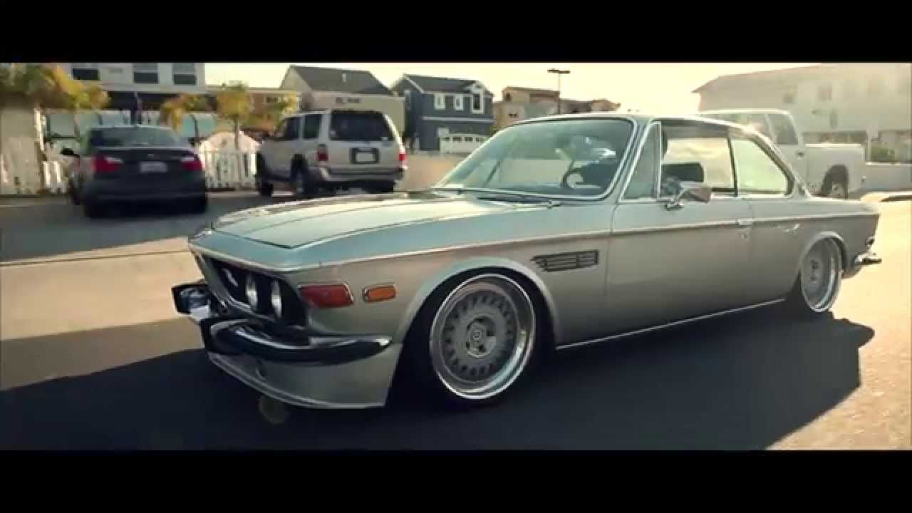 Gorgeous old BMW E9 coupe with tasteful modifications but very low ...