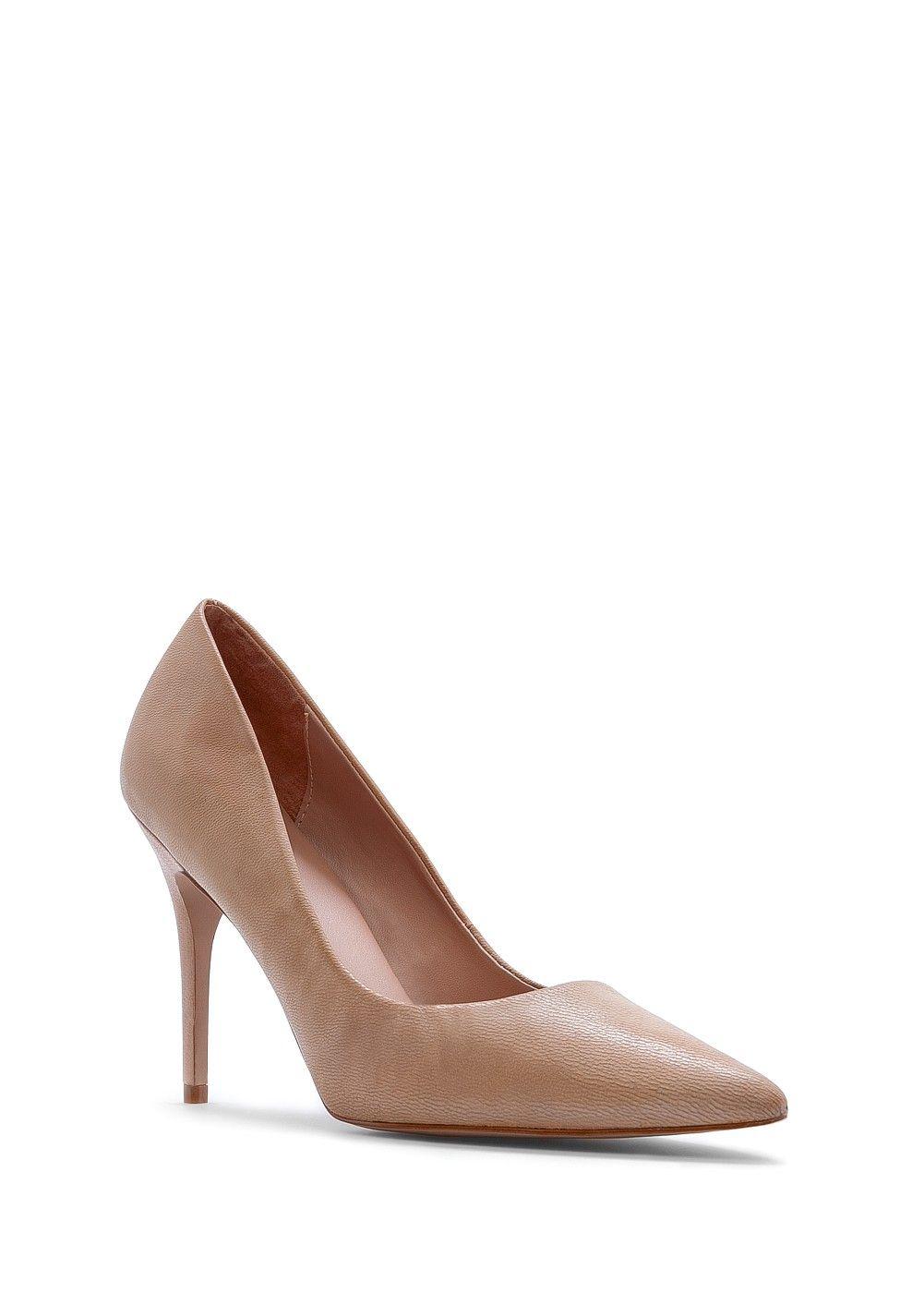 Zapato salón piel nude de MANGO SS13. Comprados en rebajas por 24,99 (antes  49,99€) Ref. 83620001 - CONSTA8 C