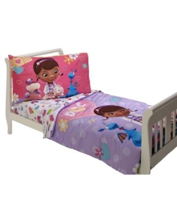 Disney Doc Mcstuffin The Doc Is In 4 Piece Toddler Bed Set Bedding
