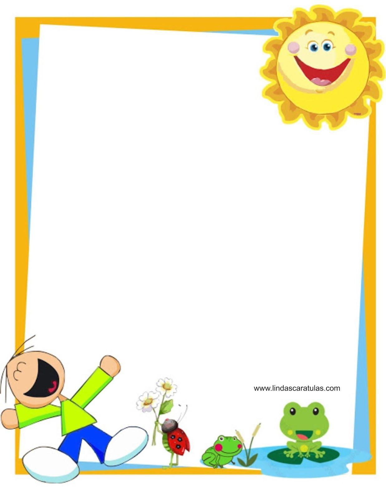 BORDERS FOR KID: DISEÑO GRAFICO Autoestima y dignidad en los niños ...